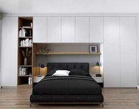 sleep BEDROOM DESIGN 3D model