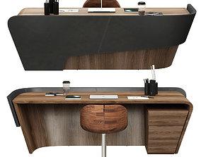 riva 1920 klip table and gioconda chair 3D