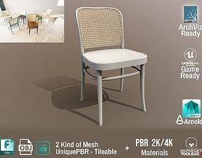 Ton Chair 811 White paint Design PBR - Lumion - 3D model