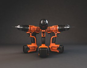 Cordless Drill 3D cordless