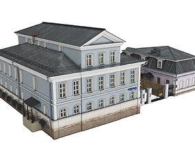 Malyi Tolmachevskyi 10 str 1 Russian Building 3D model
