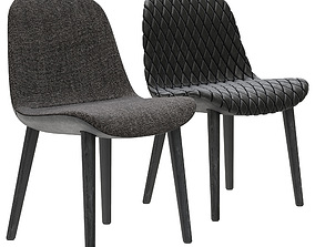 3D Poliform Mad Dining Chair
