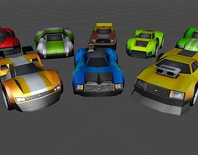 Mega Car Pack 3D asset