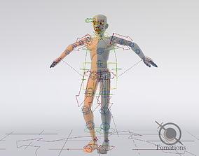 Blender Male Rigged Doll 3D asset