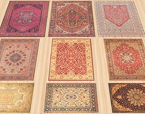 3D asset Persian Carpets