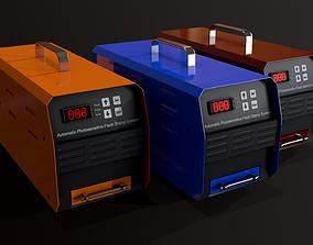 3D asset Automatic Flash Stamp Machine - Seal Maker - V2