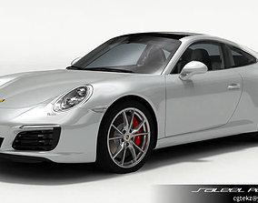 3D Porsche 911 Carrera S 2018