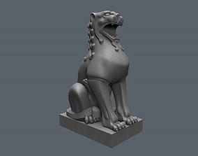 3D printable model Komainu or lion dogs