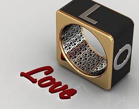 3D print model Love Ring