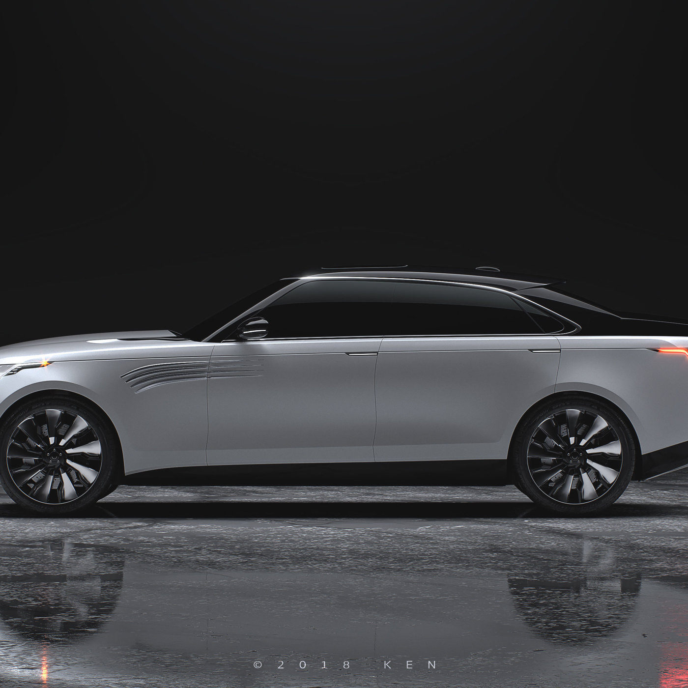 Range Rover Sedan Concept by K  E  N™