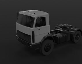 MAZ 5433 tractor 3D asset