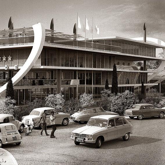 Hotel Restaurant l'Embassade 1969 - Concept