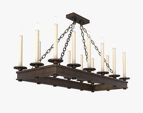 Fine Art Lamps Cienfuegos 888840 3D model