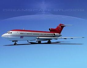 Boeing 727-100 Northwest 2 3D