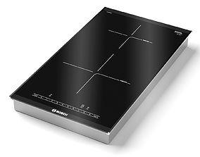 BOSCH Induction hob PIB375FB1E Serie 6 3D model
