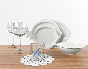 3D model Tableware of Zara Home
