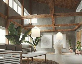Rustic Interior 3D