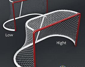 Hockey gates 3D PBR