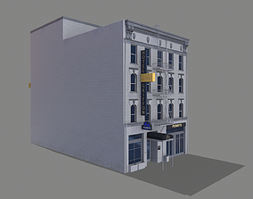 155 Steuart Street Building San Francisco low-poly 2