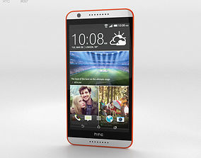 3D HTC Desire 820 Tangerine White