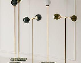 Douglas and Bec PARE Floor Lamps 3D model