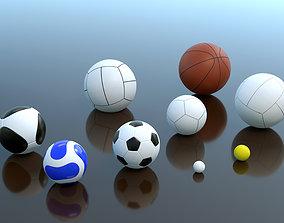 balls collection 3D model