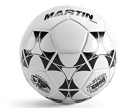 Martin Sonic Soccer Ball 3D asset