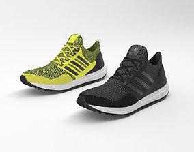 3D adidas ultra boost running shoes