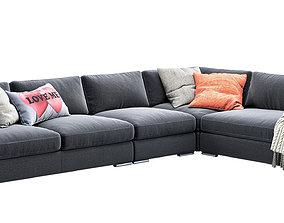 sofa Max from CAVA factory 3D model