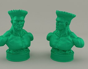 Guile Street Fighter 3D print model