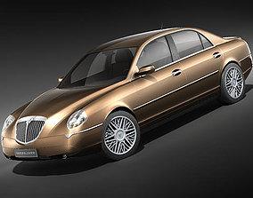 3D model Lancia Thesis 2004-2008