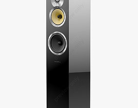 3D Bowers and Wilkins CM 7 Black Gloss