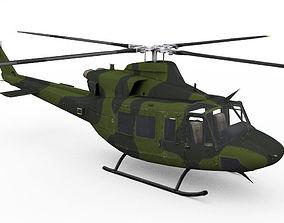 3D model Bell CH-146 Griffon