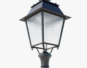 Paris street light 3D asset