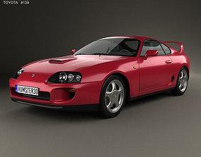 Toyota Supra 1993 3D