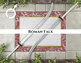 3D model Ancient Roman Falx