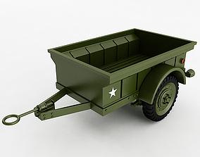 Willys T3 Trailer 3D