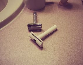 3D printable model Safety Razor - Genisys