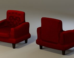 Chair couch 3D model