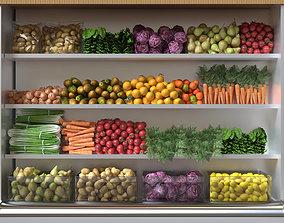 3D Fruit shelf 3