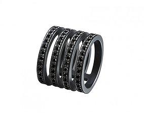 Hoops Ring 01 3D print model