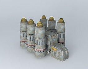 3D Pylon Vessel