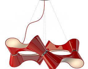 3D model Chandelier Mantra 1542 Ora Rojo