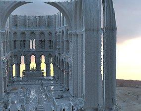 3D Cathedral interior sketchy