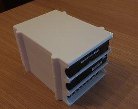 Stackable Harddisk Storage 3D print model