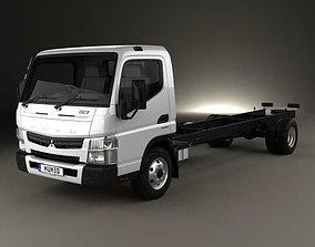 3D model Mitsubishi Fuso Canter 918 Wide Single Cab 2