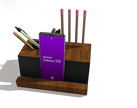 3D model PHONE STAND AND PENCIL CASE