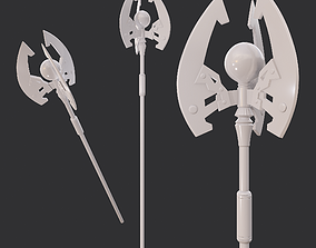 3D print model Battle Orb Axe
