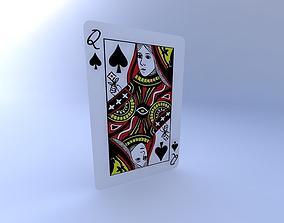 Queen of Spades 3D model