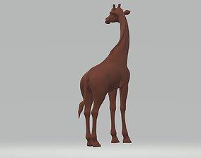 Giraffe 3D print model